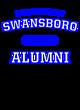 Swansboro New Era Tri-Blend Pullover Hooded T-Shirt