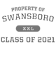Swansboro Vintage Heather Hooded Unisex Sweatshirt