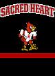 Sacred Heart Champion Reverse Weave Hooded Sweatshirt