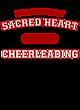 Sacred Heart Tri-Blend Wicking Draft Tee