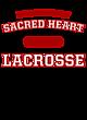 Sacred Heart Vintage Flame Tri-Blend Hooded T-Shirt