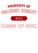 Sacred Heart Youth Perfect Tri Long Sleeve Hooded T-shirt