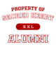 Sacred Heart Youth Ombre Long Sleeve T-Shirt