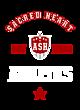 Sacred Heart Womens Sport Tek Heavyweight Hooded Sweatshirt