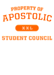 Apostolic Classic Fit Heavy Weight T-shirt
