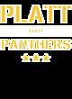 Platt Womens Long Sleeve V-Neck Competitor T-Shirt