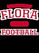 Flora Ladies Sport-Wick Heather Fleece Hooded Pullover
