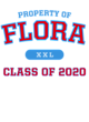 Flora New Era Sueded Cotton Baseball T-Shirt