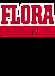 Flora Tri-Blend Wicking Short Sleeve Hoodie