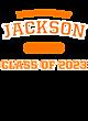 Jackson New Era Ladies Heritage Blend Varsity Hoodie