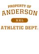 Anderson Ladies Classic Fit Lightweight Tee
