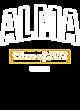 Alma Allmade Ladies' Tri-Blend Crew Neck Tee