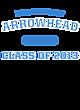 Arrowhead New Era Tri-Blend Pullover Hooded Sweatshirt