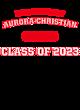 Aurora Christian Womens Scorecard Crop Tee