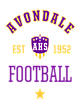 Avondale Ivy League Tri-Blend Team Hoodie