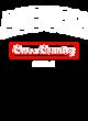 Auburn Champion Reverse Weave Short Sleeve Hoodie