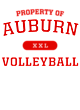 Auburn Womens Long Sleeve V-Neck Competitor T-Shirt