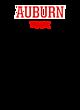 Auburn Tri-Blend Wicking Short Sleeve Hoodie