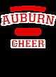 Auburn New Era Ladies Heritage Blend Varsity Hoodie