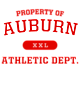 Auburn Holloway Electrify Heathered Performance Shirt