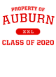 Auburn Womens V-Neck Competitor T-shirt