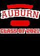 Auburn Allmade Ladies' Long-Sleeve Tri-Blend Tee