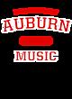 Auburn Ladies Tri-Blend Wicking Fan Tee