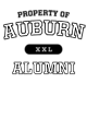 Auburn Comfort Colors Heavyweight Ring Spun LS Tee