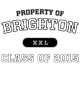 Brighton Womens Vintage Tri-Blend Hooded Pullover