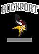 Rockport Vintage Heather Hooded Unisex Sweatshirt