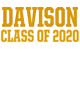 Davison Ladies Tri Blend Racerback Tank