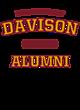 Davison Ladies Ombre V-Neck Tee