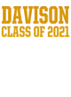Davison New Era Ladies Tri-Blend Hooded Sweatshirt