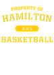 Hamilton Contrast Hooded Unisex Sweatshirt