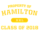 Hamilton Youth Classic Fit Long Sleeve T-shirt