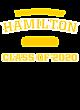 Hamilton Womens Electric Heather Hooded Sweatshirt