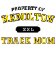 Hamilton Adult Baseball T-Shirt