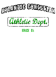 Atlantic Christian Nike Ladies Dri-FIT Cotton/Poly Scoop Neck Tee