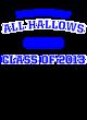 All Hallows Ladies' Posi-UV Pro Scoop Neck Tee