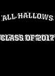All Hallows Tech Fleece Hooded Colorblock Sweatshirt