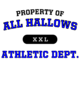 All Hallows Ladies Attain Wicking Performance Shirt