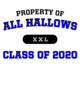 All Hallows Russell Ladies' Essential Tee