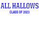 All Hallows Sport-Tek Long Sleeve Youth Posi-UV Pro Tee