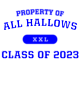 All Hallows Long Sleeve Competitor T-shirt