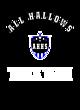 All Hallows Womens Cotton V-Neck T-shirt
