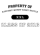 Academy Mount Saint Ursula Champion Heritage Jersey Tee