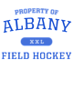Albany Womens Scorecard Crop Tee